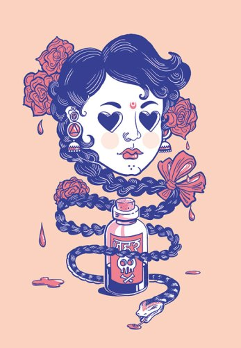 Tainted Love, Pretty Poison, Digital/Print