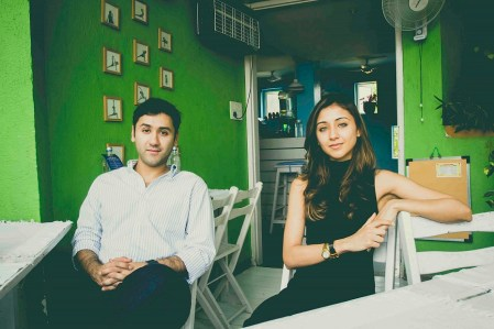 Mishal and Khrisha, Co-Founders of Dysco