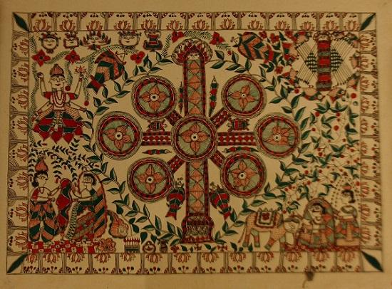 Mithila Folk Art