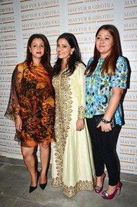Monica Kochhar, Heena Arora, Tiffany Chadha Khurana