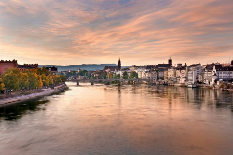 Basel on the River Rhine