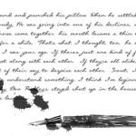 Death of the written word, Murder she typed