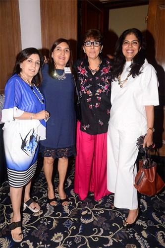 Nalini Kalra, Roshita Tolani, Shalini Mirchandani & Kanika Luthra