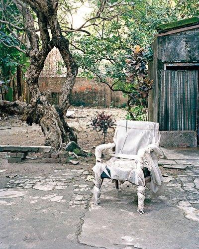 "Nandita Raman, Manik da's Chair (image india) -9 from ""Film Studio Series"", 2013-2014"