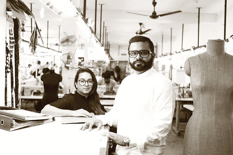 Nandita and Hemant Lalwani, Fashion Designers