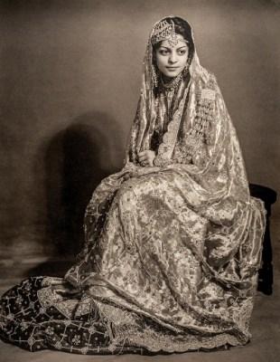 Nawab Begum Sajida Sultan of Bhopal, also Begum of Pataudi.