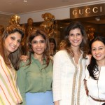 Nayntara Thacker, Roohi Jaikishan, Farah Oomerbhoy and Penny Patel at Gucci children's event