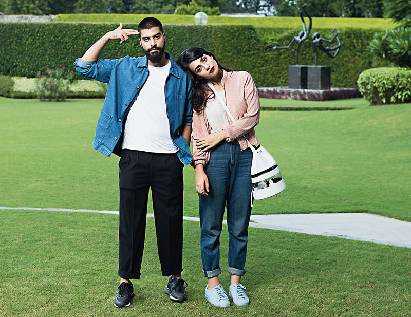 Neha Singh and Pranav Guglani, Fashion Designers, Cord