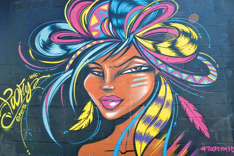 New York, Graffiti, Toofly