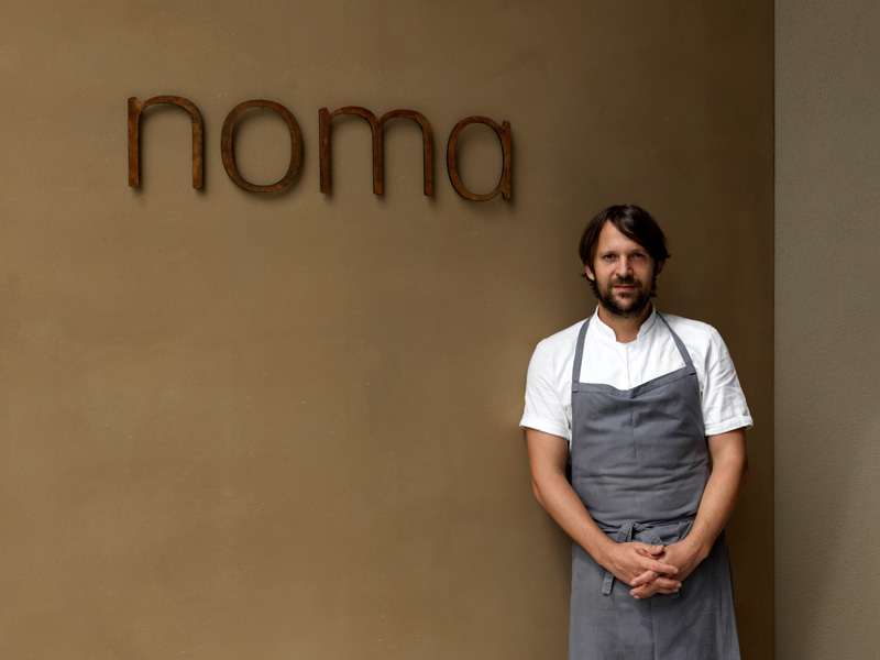 Chef Rene Redzepi, Noma, Australia, Restaurant,travel, food, spaces