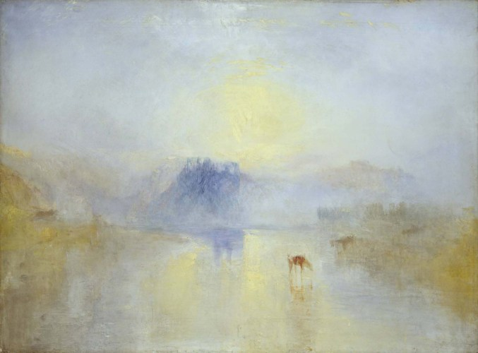 Norham Castle, Sunrise 1845 by JMW Turner