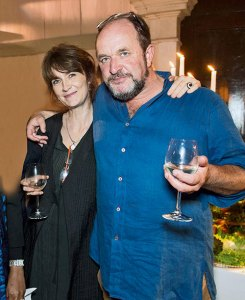 Olivia Fraser and William Dalrymple