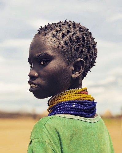 A Nayngatom Tribe Child