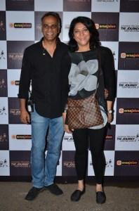 Owen Roncon and Priya Dutt