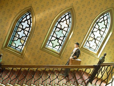 The Randolph: main staircase