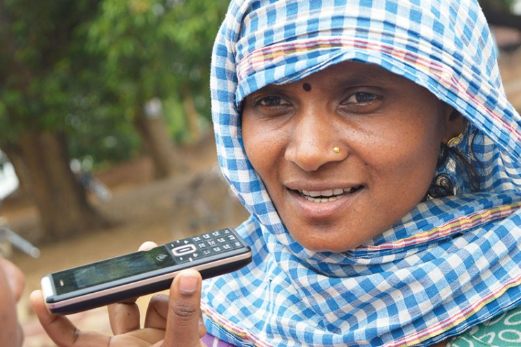 CGNet Swara in Chattisgarh is the world's first cell-phone-based news network