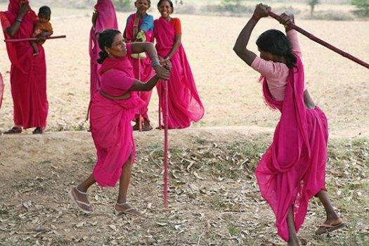 A still from Gulabi Gang
