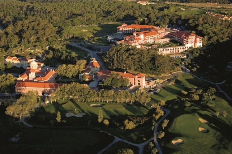 Aerial view of Penha Longa Hotel, Sintra