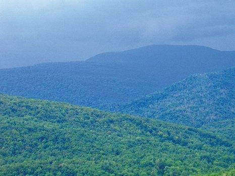 The Catskills before the rains