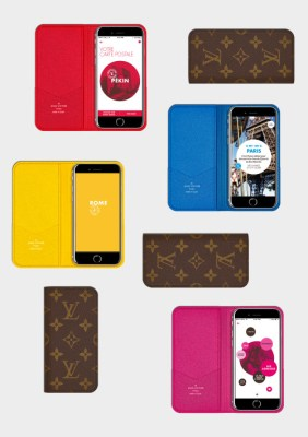 Louis Vuitton Monogram leather case for iPad and iPhone