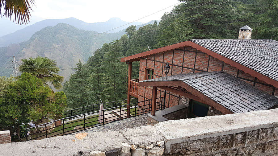 Pine Tree Lodge, Landour, Mussoorie, Parmesh Shahani, Parmesh's Viewfinder