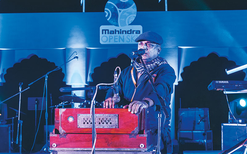 Piyush Mishra at Mahindra Open Sky
