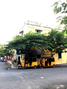 Streets of Pondicherry