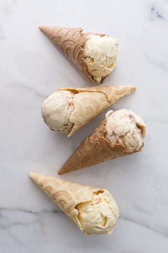 Malai's flavours in cones from the Konery
