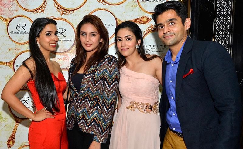 Pooja Vijan Gurnani, Huma Qureshi, Mahira and Vishal Mankani