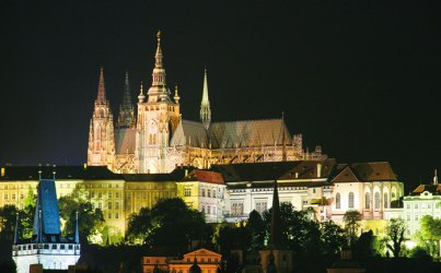 Prague Castle: brooding skyline