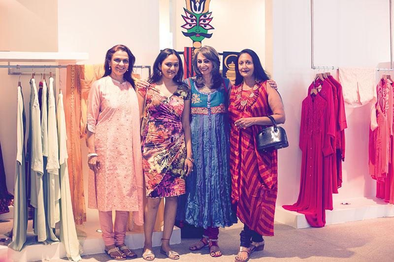 Preetha Ratnam, Arya Rajan, Prabha Narasimhan, Uma Muthuswamy
