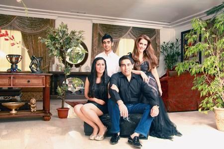 Reaa, Nosher, Pria  and Sumit (clockwise)