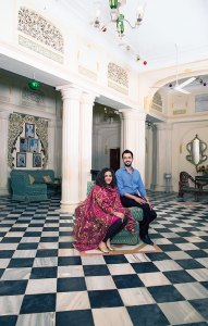 Princess Vaishnavi Kumari and Kumar Saaheb Padmanabh Jadeja: looking after each other's heritage