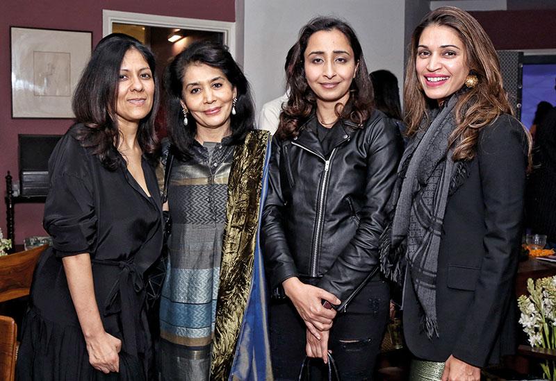 Radhika Chopra, Tasneem Zakaria Mehta, Priyanka Gill, Gayatri Rangachari Shah