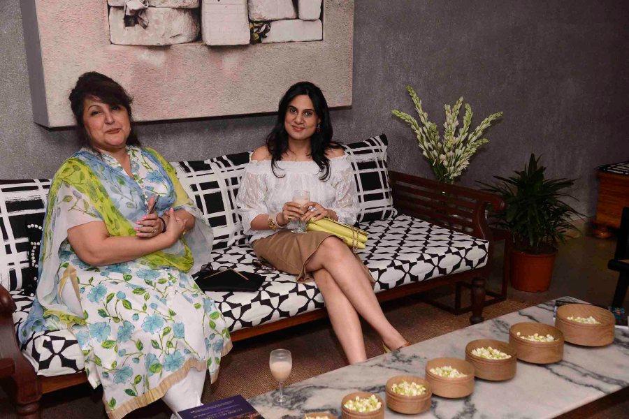 Raell Padamsee and Shibani Agrawal