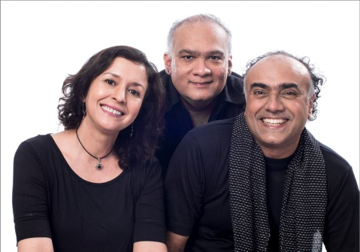 L to R: Shernaz Patel, Rahul daCunha and Rajit-Kapur