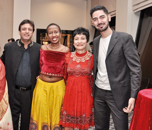 Rahul Divan, Lerato Mashile, Rosimar da Silva Suzano, Vedant Ahluwalia