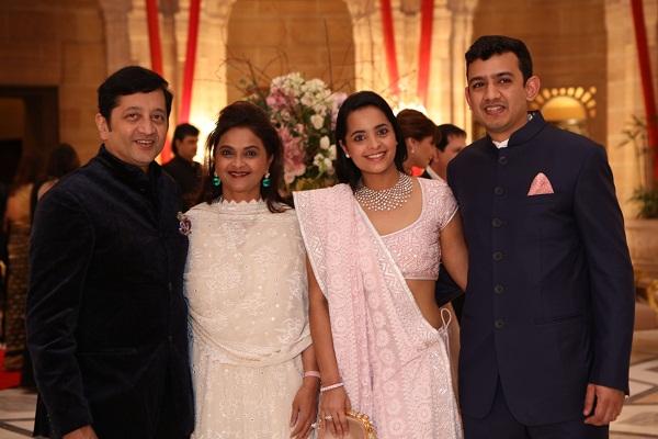 Raj and Deepti Salgaocar, Isheta Salgaocar,  Neeshal Modi