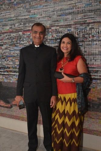 Rashesh and Vidya Shah