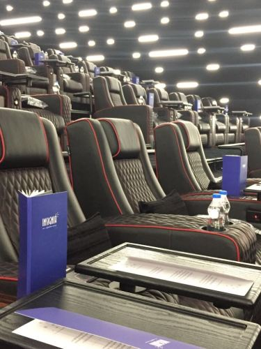 Recliner seats at INOX Insignia