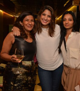 Rita Chainani, Nayantara Thacker, Nidhi Ghia