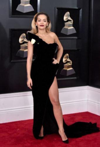 Rita Ora in Ralph & Russo and Lorraine Schwartz
