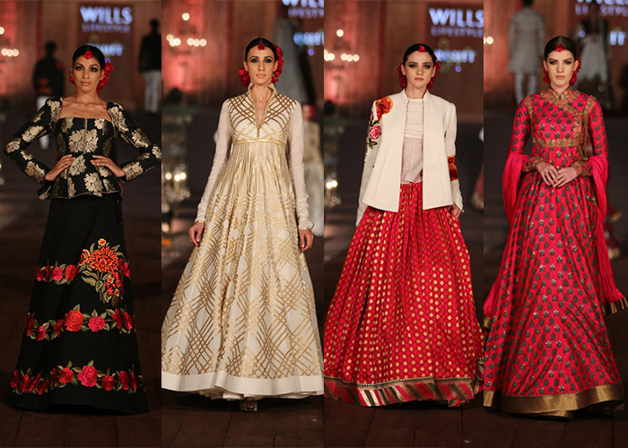 Rohit Bal Wills lifestyle India Fashion week spring summer 2015