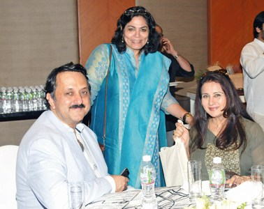 Rohit Khattar, Verve's Arti Sarin, Poonam Dhillon