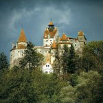Romania, Count Dracula's legendary abode Bran Castle, Peles in Sinaia