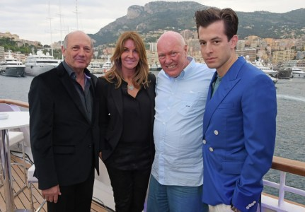 Ron Dennis, Carol Weatherall, Jean-Claude Biver,  Mark Ronson