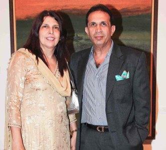 Roshni and Parvez Damania
