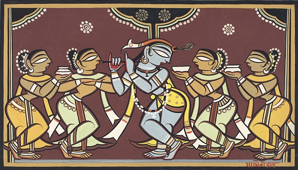 Artwork by Jamini Roy