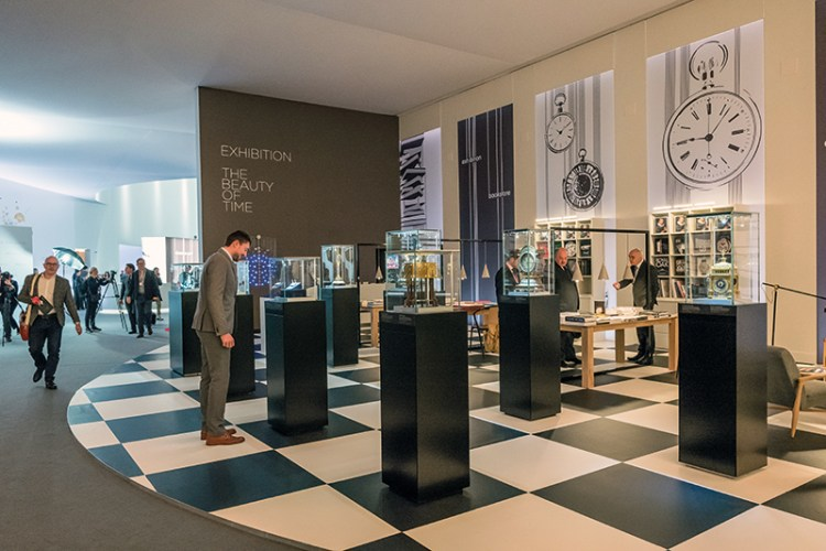 The Beauty of time exhibition at SIHH 2018