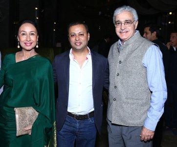 Saba Ali, Sandeep Gupta, Asghar Ali